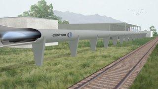 À Collombey-Muraz, le projet de mobilité ultrarapide Eurotube se dévoile peu à peu