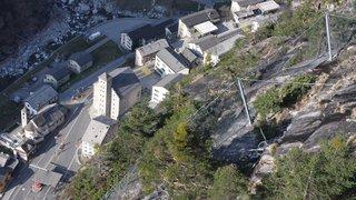 La montagne balaie les espoirs de Gondo, ce petit village alpin qui cherchait à renaître