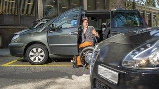 Sion: elle veut améliorer les places pour handicapés