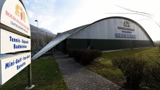 Domaine des Iles: une halle polysportive remplacera les courts de tennis extérieurs