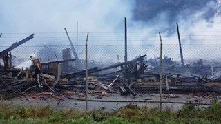 Incendie d'Evionnaz, jeudi matin (2)