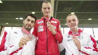 Trois Sédunois sur le même podium