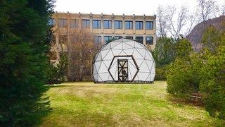 Sion: un planétarium construit cet été dans les jardins du collège des Creusets