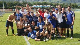 L'US Port-Valais fête une deuxième promotion en deux ans