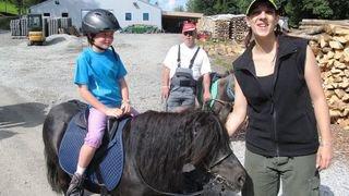 La Tzoumaz: les animaux de la ferme au cœur des activités de la Fondation Domus