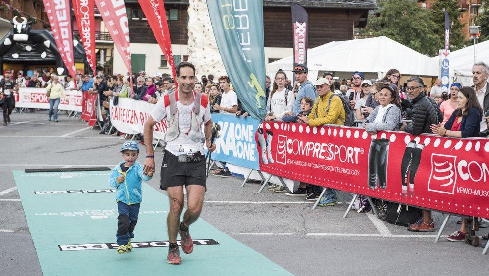 Ryan Baumann, responsable des sports de la ville de Sierre, court pour la dernière fois le trail de Verbier - 07 juillet 2018 - Verbier