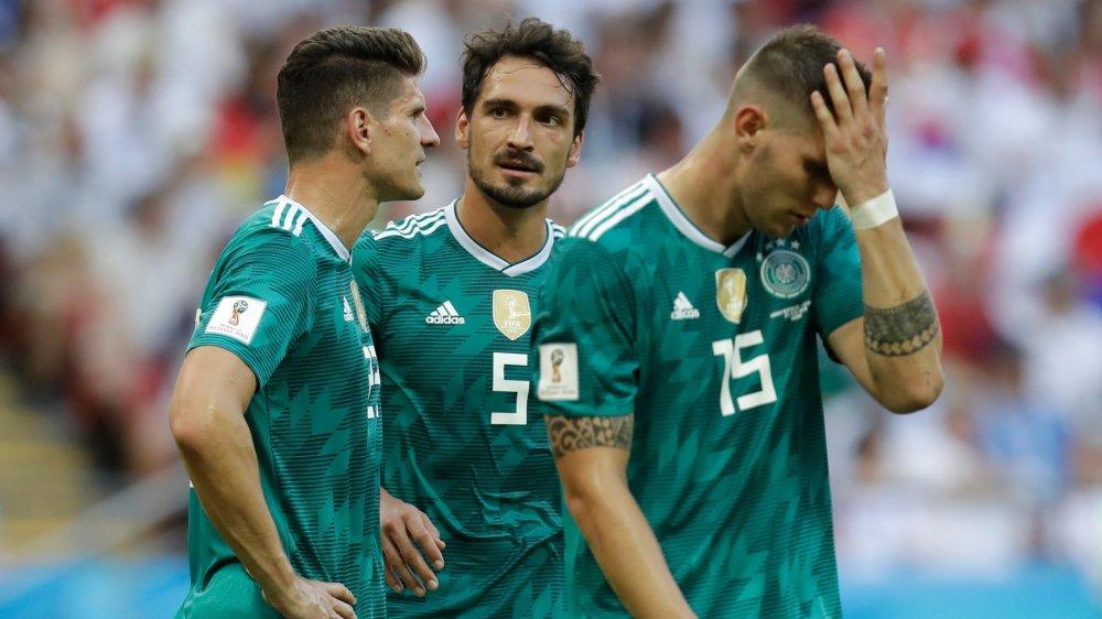 Gomez, Hummels et Suele sont abattus. Le champion du monde en titre quitte prématurément la Russie.
