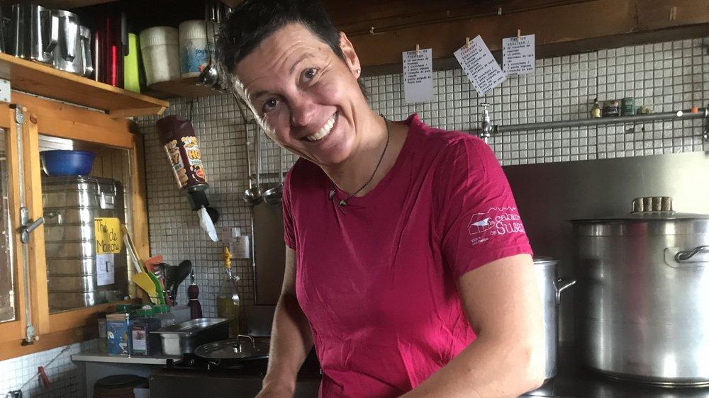 Fabienne Debossens est la gardienne de la cabane de Susanfe depuis 10 ans.