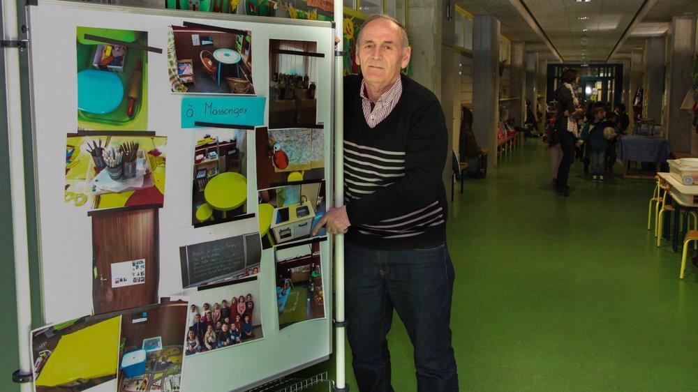 Feti Gerbeshi a réussi à convaincre le milieu scolaire de Martigny de venir en aide au Kosovo.