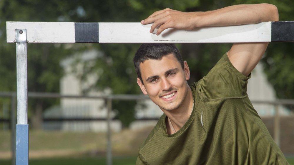 Julien Bonvin a choisi le 400 mètres haies à Tempere où se dérouleront les Mondiaux juniors.