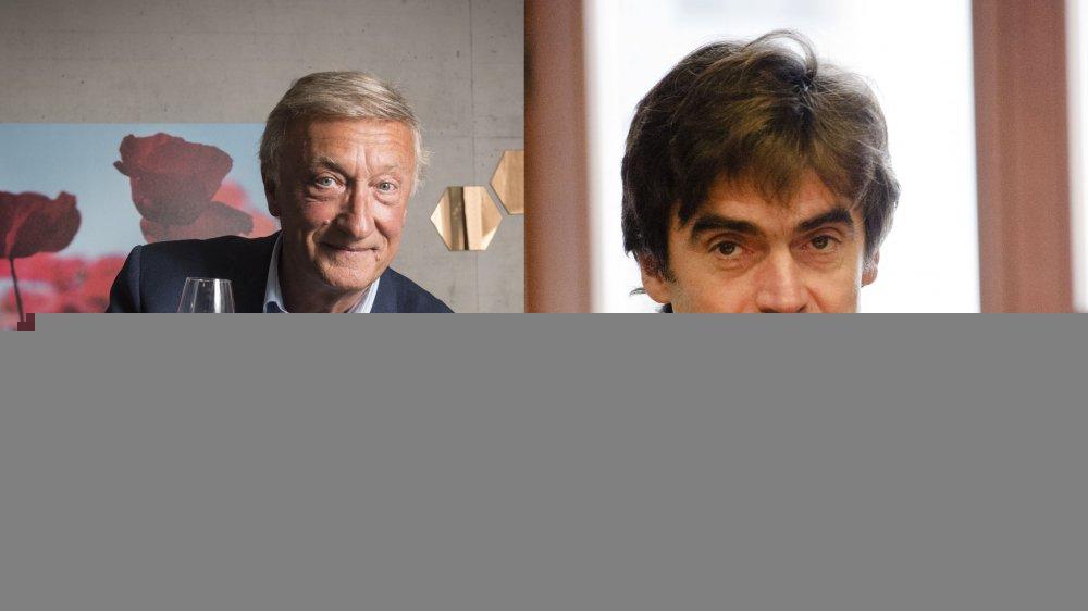 Olivier Lejeune (à gauche) sera à Champéry et Eric Fournier à Trient pour la Fête nationale.
