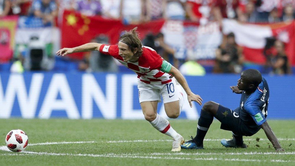 Luka Modric et N'Golo Kanté font partie de l'équipe-type de votre journal.