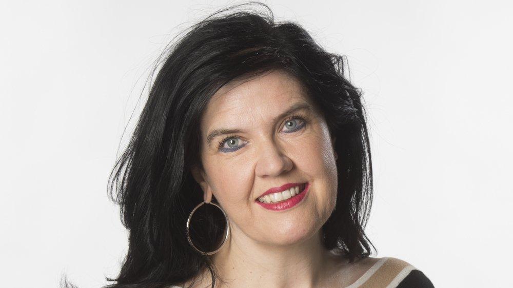 Christine Savioz, journaliste.
