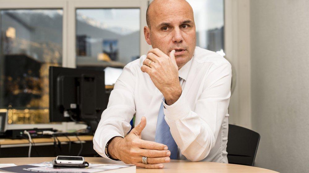 François Seppey, directeur de la HES-SO Valais, craint pour l'avenir de la recherche si l'initiative UDC pour l'autodétermination est acceptée le 25 novembre prochain.