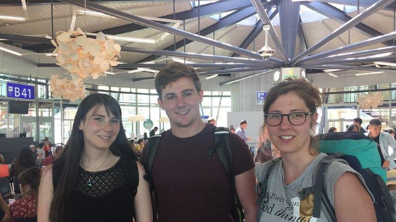 Aude Médico, Marc Vruggink et Elodie Moulin s'envolent ce lundi pour le Grand Nord.