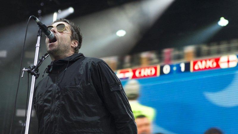 L'ex-chanteur d'Oasis a diffusé, durant son concert, la demi-finale de la coupe du monde.