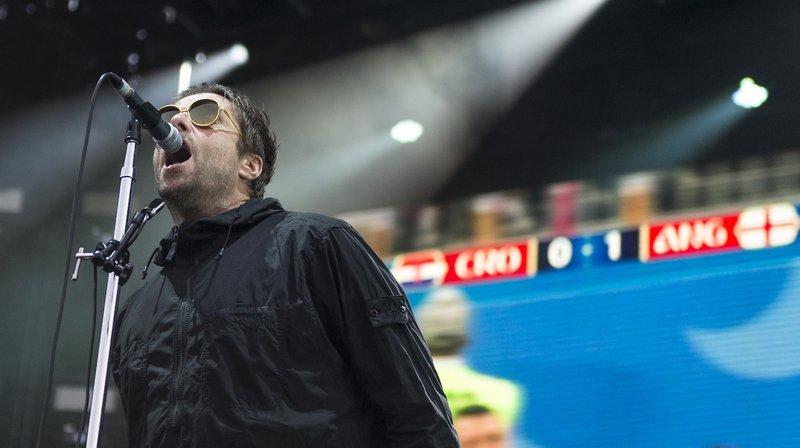 L'ex-voix mythique d'Oasis était en concert ce mercredi soir à Sion sous les étoiles.