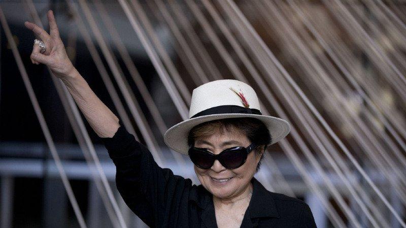Musique: Yoko Ono, veuve de John Lennon, va sortir un nouvel album à 85 ans