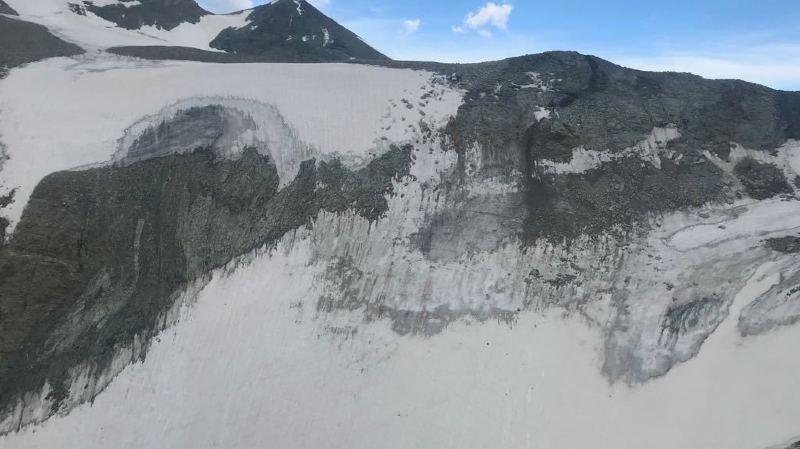 L'avion s'est écrasé en dessous du Col Durand, à 3300 mètres d'altitude.