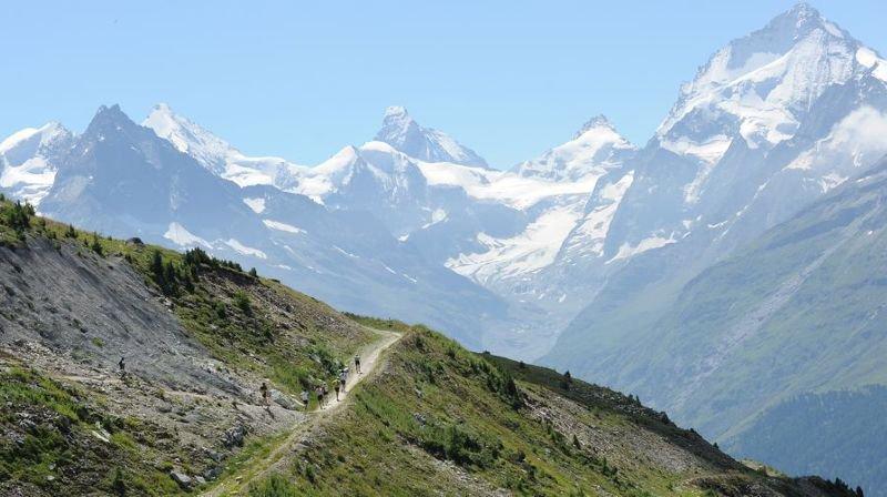 Les courses de montagne en Valais