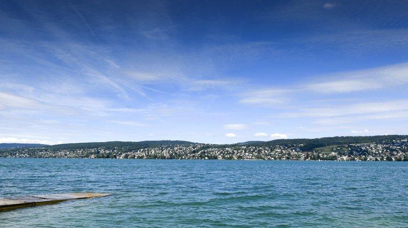 Lac de Zurich: une personne se noie au large de Thalwil