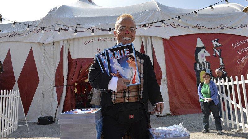 """Le clown """"Spidi"""" du cirque Knie est mort à 51 ans"""