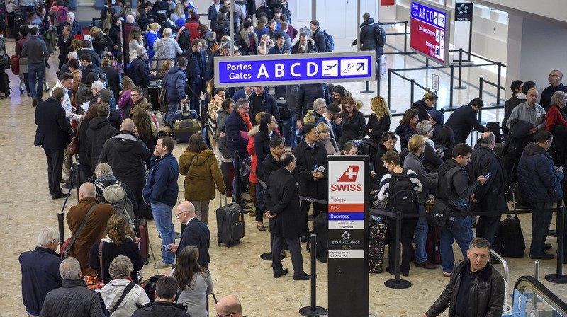 Trafic aérien: l'aéroport de Genève quasiment paralysé le temps d'un orage