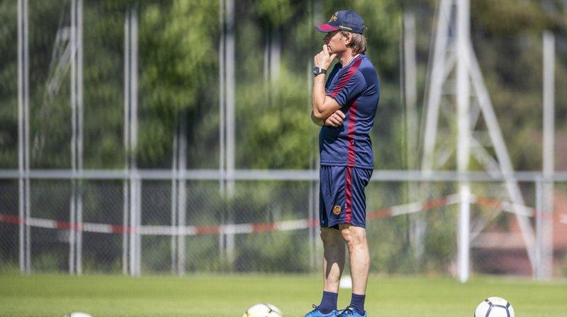 Alain Geiger a soigné son retour au Servette FC, en menant les Genevois à la victoire 2-0 à Aarau.