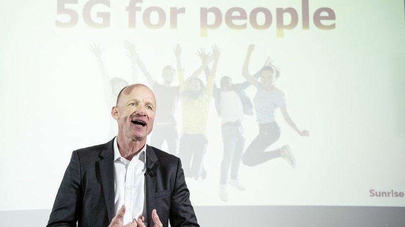 """Au niveau des régions linguistiques, le CEO de Sunrise Olaf Swantee a précisé ne pas vouloir """"laisser l'image que, parce que notre première antenne est à Zurich, nous oublions la Suisse romande""""."""