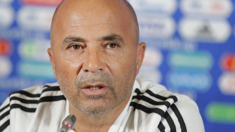 Jorge Sampaoli était sur la sellette depuis l'élimination de l'Argentine en huitième de finale par la France.
