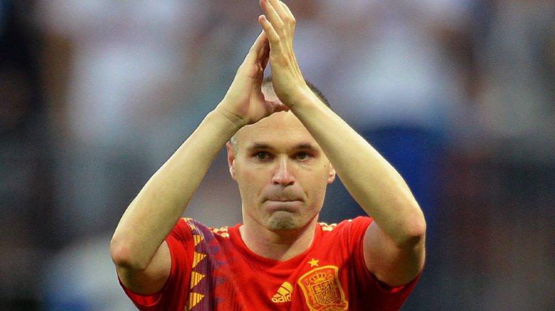Football: Andres Iniesta prend sa retraite internationale