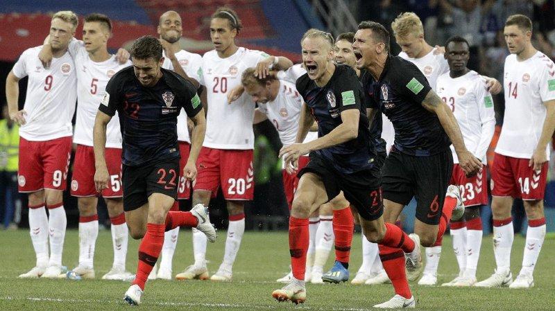 Coupe du monde 2018: la Croatie s'impose aux tirs au but et rejoint la Russie en quart de finale