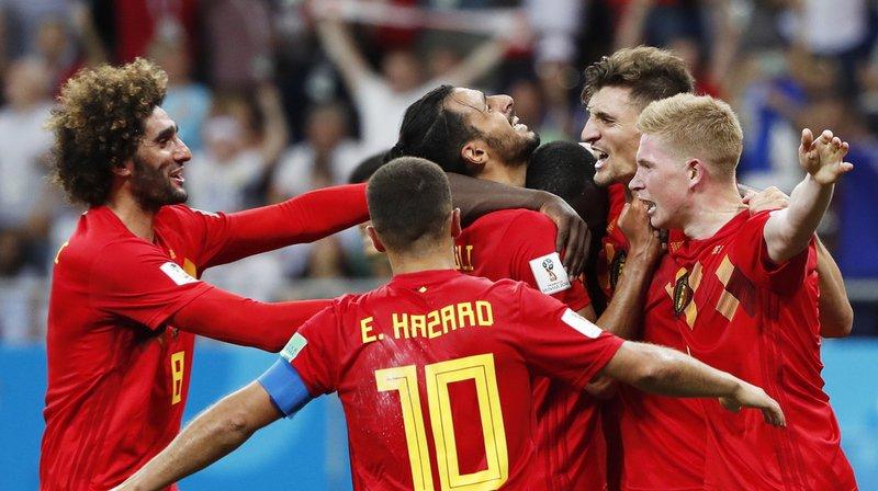 Coupe du monde 2018: la Belgique se qualifie sur le fil pour les quarts de finale