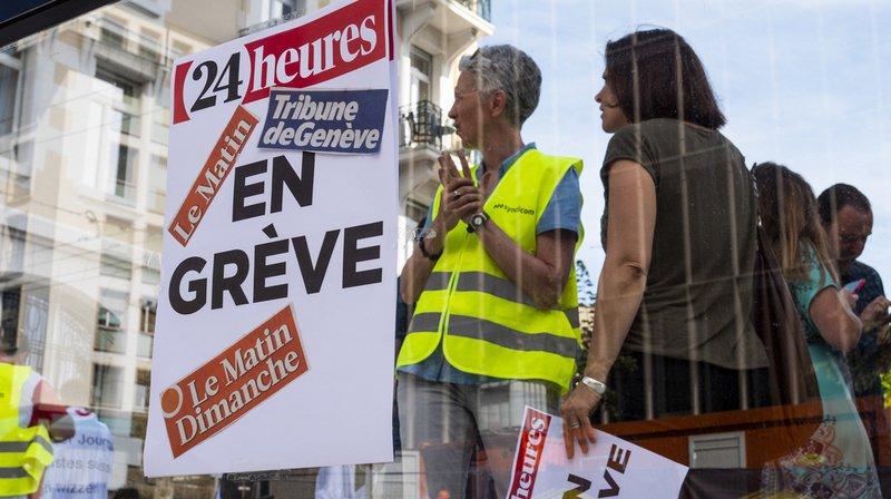 Grève: Tamedia demande la conciliation, un appel de soutien lancé pour les employés