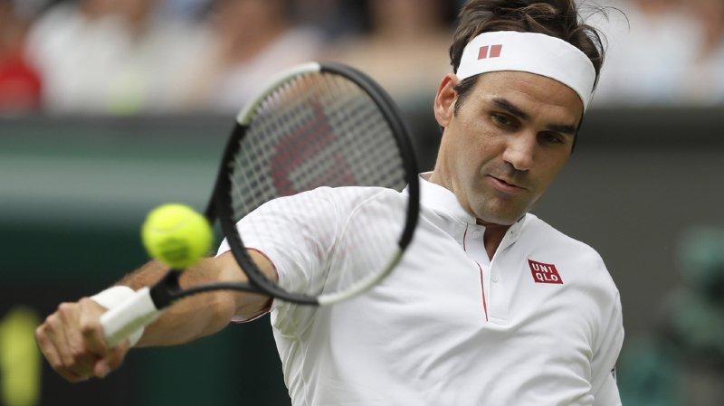 Tennis - Wimbledon: Federer passe le 2e tour sans souci