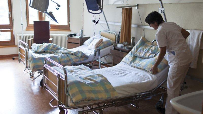 Le recul des coûts hospitaliers est à l'origine de ces prévisions moins pessimistes (illustration).