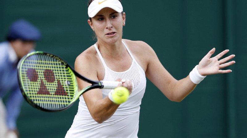 Tennis - Wimbledon: Belinda Bencic a franchi le deuxième tour