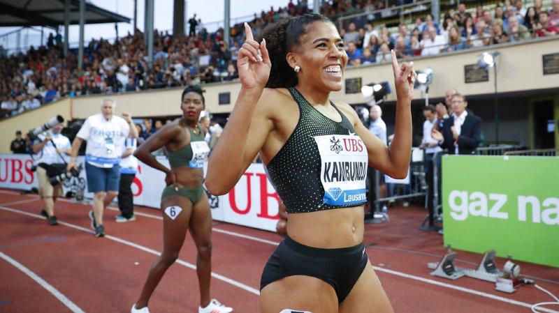 Athlétisme: Kambundji bat son record de Suisse du 100 m à Athletissima
