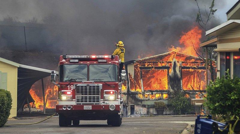 L'Ouest américain en proie à une canicule record et des incendies