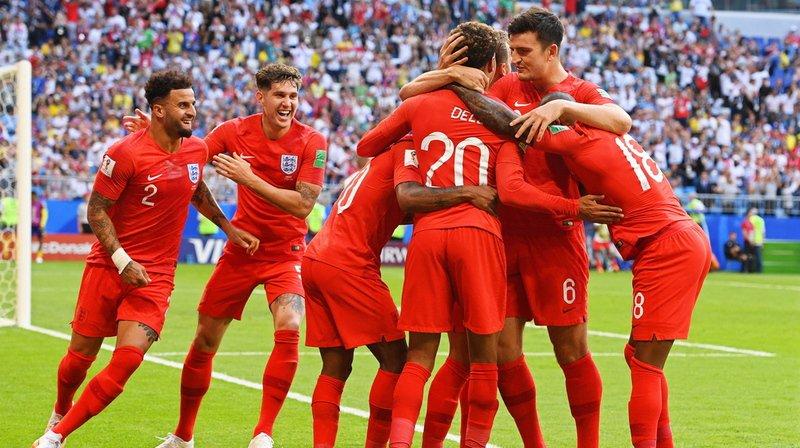 Coupe du monde 2018: l'Angleterre bat la Suède et passe en demi-finale