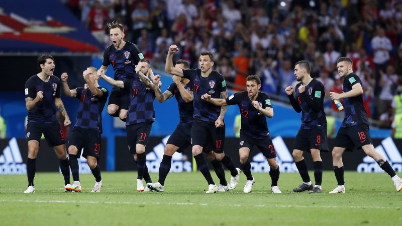 La Croatie a mis fin au rêve russe après un match acharné.