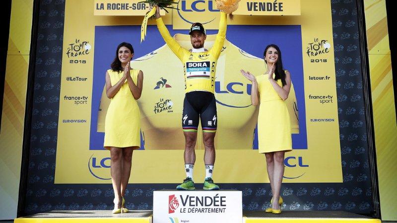 Tour de France: Peter Sagan remporte la deuxième étape et prend la tête du classement général