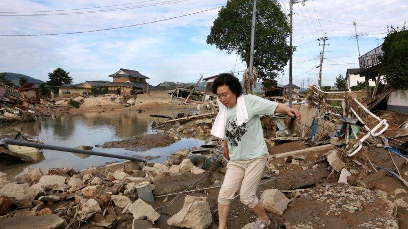 Japon: les inondations font au moins 100 morts