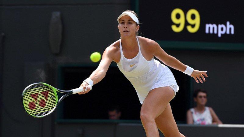 Wimbledon: Belinda Bencic est éliminée en huitième de finale par l'Allemande Angelique Kerber