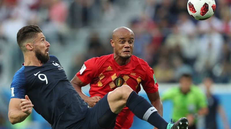 Coupe du monde 2018: La France s'impose face à la Belgique et se hisse en finale