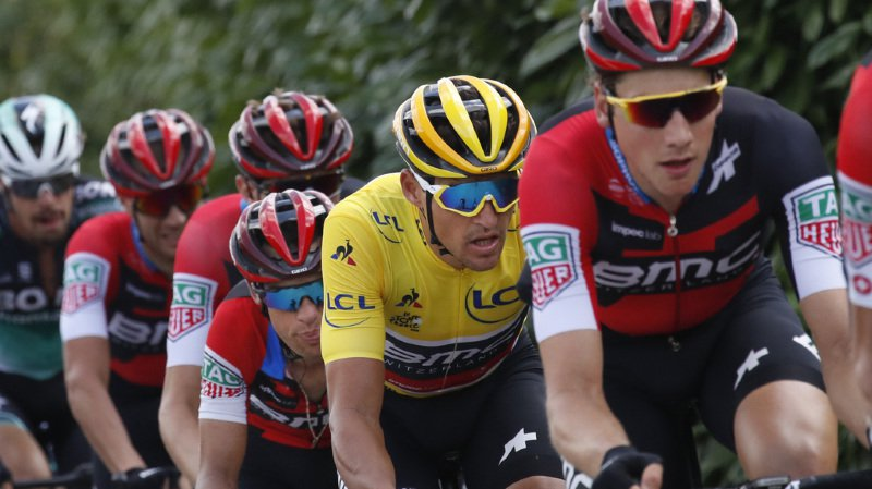 """Cyclisme - Tour de France: Kristoff redevient vainqueur, Dumoulin sacré roi du """"chrono"""" et Küng déçoit"""