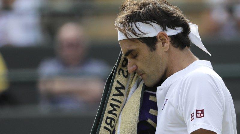 Roger Federer éliminé.