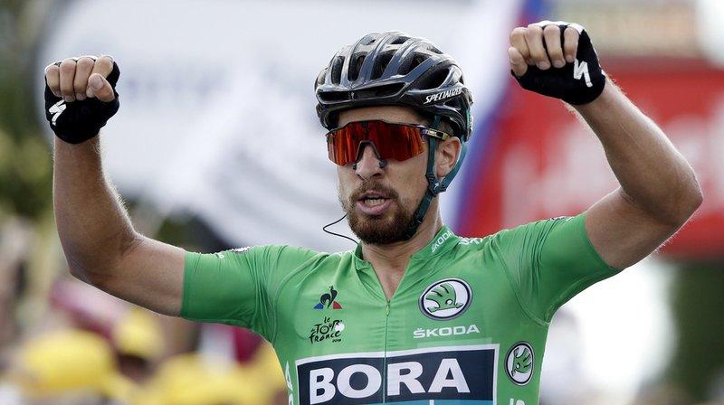 Cyclisme - Tour de France: Peter Sagan remporte la 5e étape