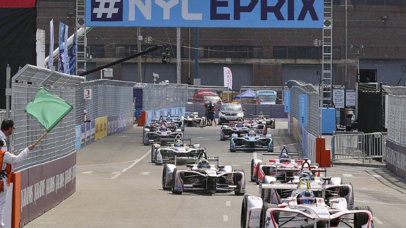 Formule E: le Vaudois Buemi termine 4e à New York