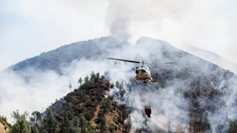 Etats-Unis: un incendie menace le parc national de Yosemite en Californie